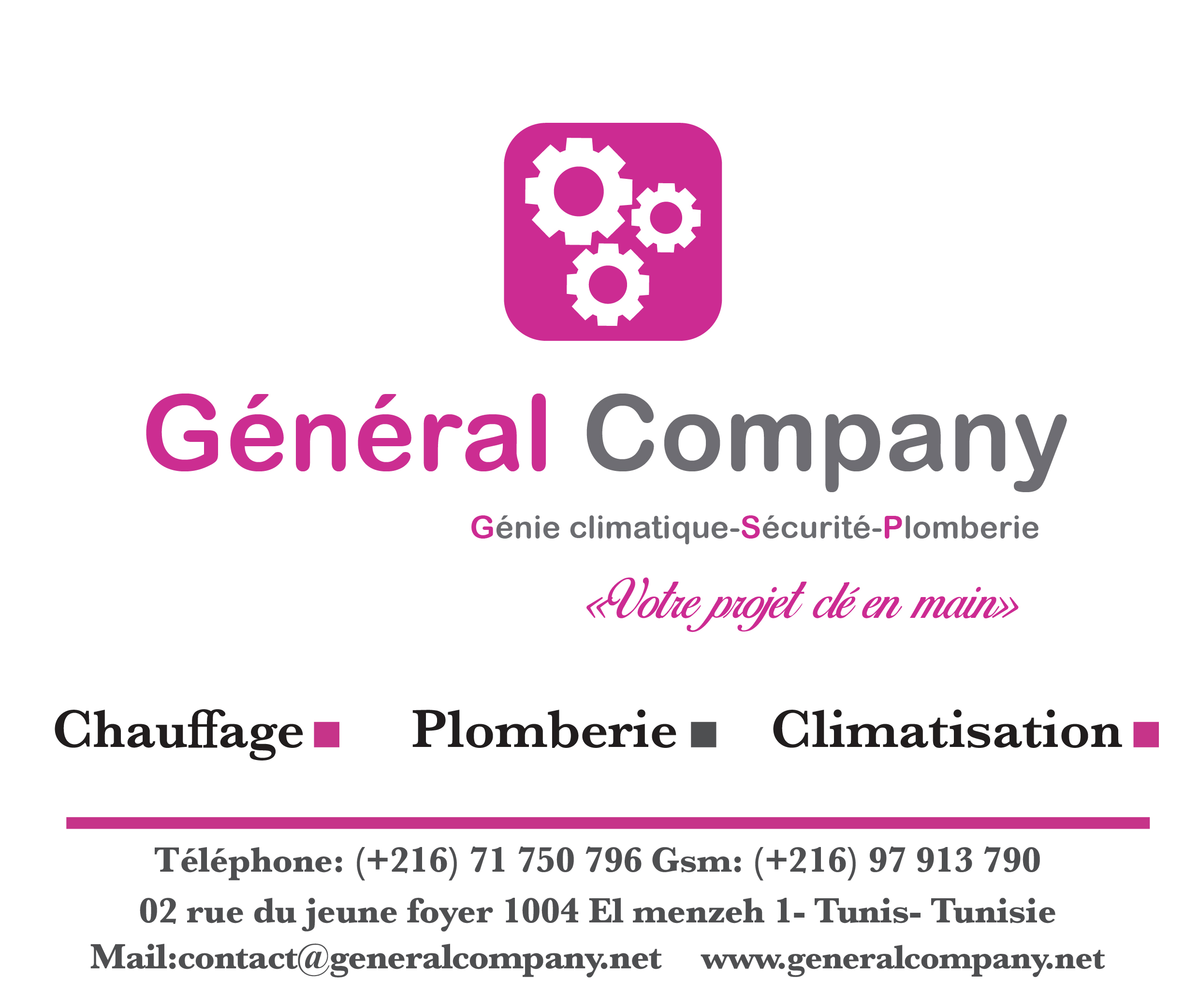 GENERAL COMPANY